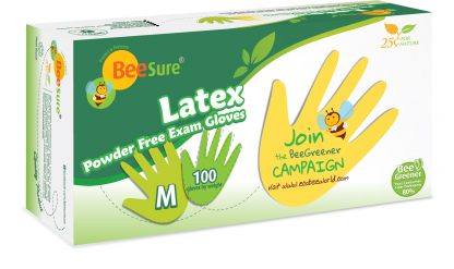 beesure-latex-gloves